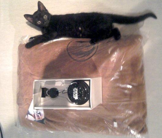 eBay dealhunter játék - az első adag, plusz Vasquez, a szerkesztőségi macska