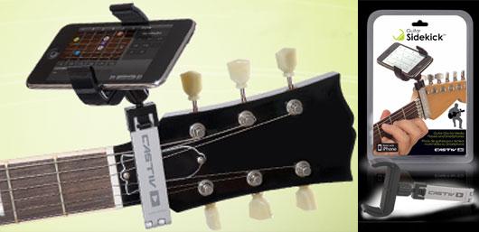 Guitar Sidekick - telefontartó gitárnyakra - gepsegszalon.hu