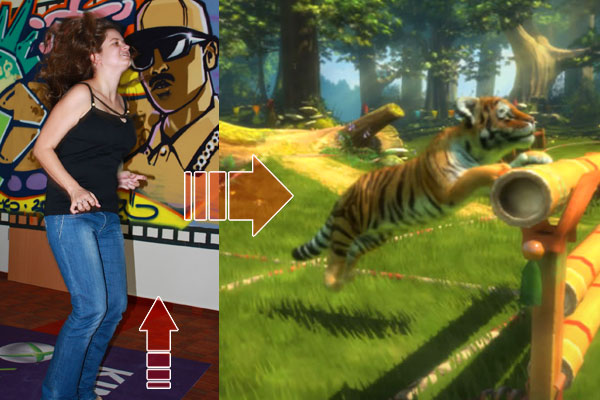 Így ugrál scullly a Kinect előtt