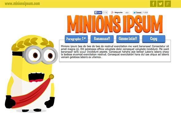 minionipsum