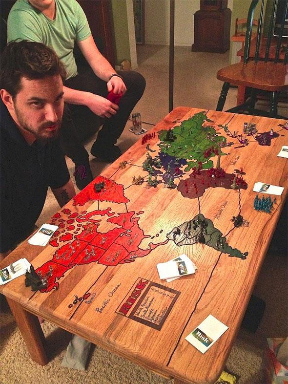 riziko-asztal